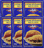 Cincinnati Recipe Chili Mix 2.25oz 6pk