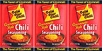 Gold Star Chili Chili Seasoning 2.25oz 3pk
