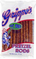Grippos Pretzel Rods 9oz 18ct