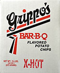 Grippos X Hot Potato Chips 1.5lb