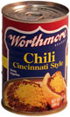 Worthmore Cincinnati Style Chili 10oz 6pk
