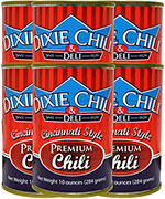 Dixie Chili 10oz Can 6pk