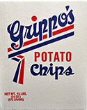 Grippos Plain Potato Chips 1.5lb