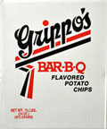 Grippos BBQ Potato Chips 1.5lb