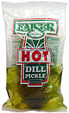 Kaiser Hot Dill Pickles 12ct Pouches