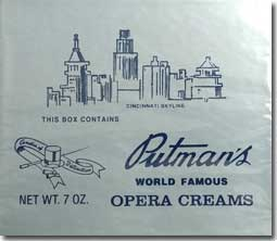 Putmans Opera Cream 7oz Box