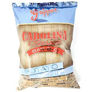 Grippos Carolina Classic BBQ 2.75oz Bag 24pk