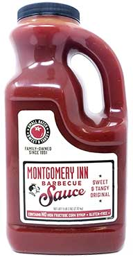 Montgomery Inn Barbecue Sauce Gallon Jug