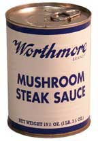 Worthmore Mushroom Steak Sauce 19.5 Oz 3pk